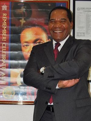 O reitor da Unipalmares José Vicente (Foto: Divulgação/Unipalmares)