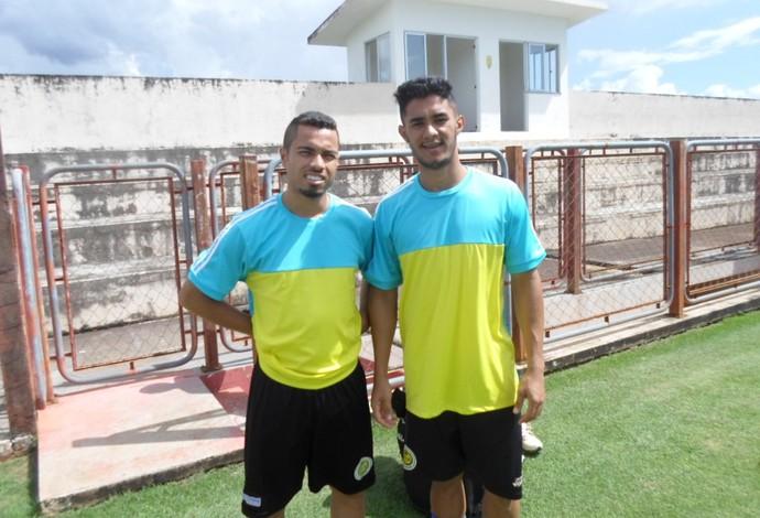 Morato e Jean reforçam o Cascavel e treinam com o elenco (Foto: Divulgação/FC Cascavel)