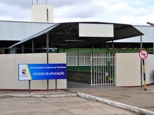 Sede do Colégio de Aplicação da UFRR (Foto: Divulgação/ UFRR)
