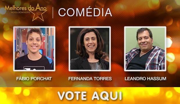 Melhores do Ano - Melhor Comediante (Foto: Domingão do Faustão / TV Globo)