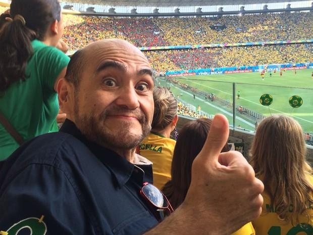 """Edgar Vivar, ator que faz o Senhor Barriga em """"Chaves"""" (Foto: Divulgação)"""