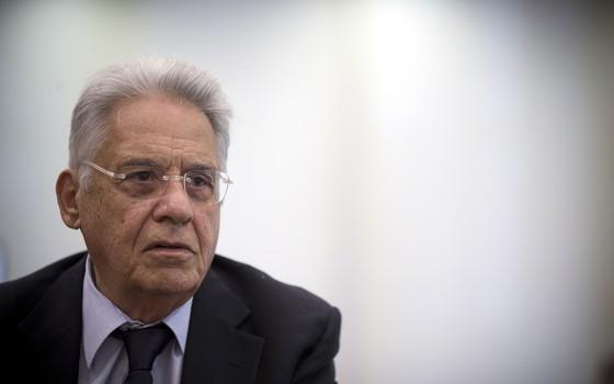 O ex-presidente Fernando Henrique Cardoso.Ele reconheceu Tomás como filho em 2009 (Foto: Fabio Braga/Folhapress)