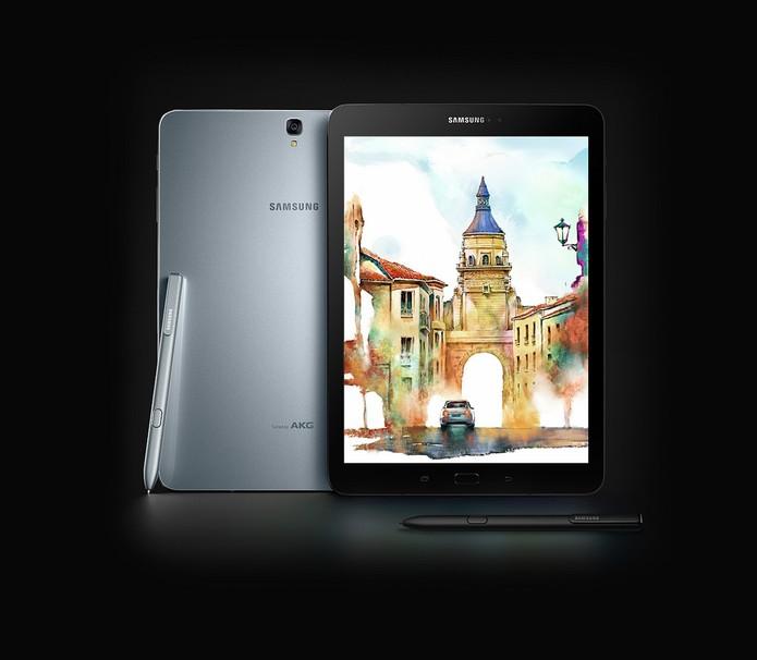 Samsung lançou tablets voltados para entretenimento e uso profissional. (Foto: Reprodução/Samsung)