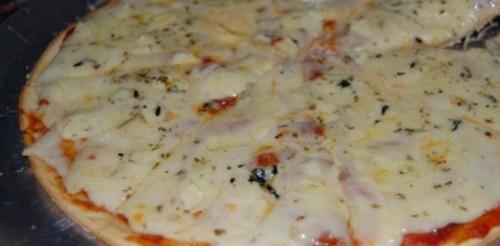 Pizza Deliciosa de Liquidificador