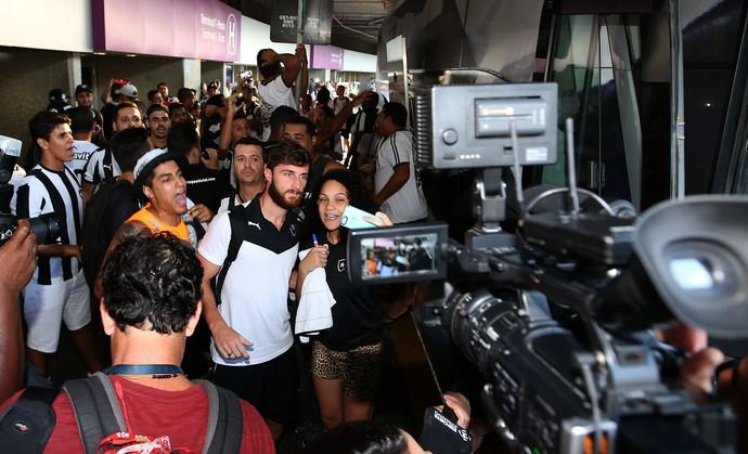 Diego Jardel Botafogo (Foto: Satiro Sodré / SSpress)