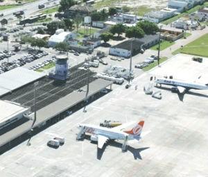 Aeroporto de Vitória (Foto: Infraero/Divulgação)