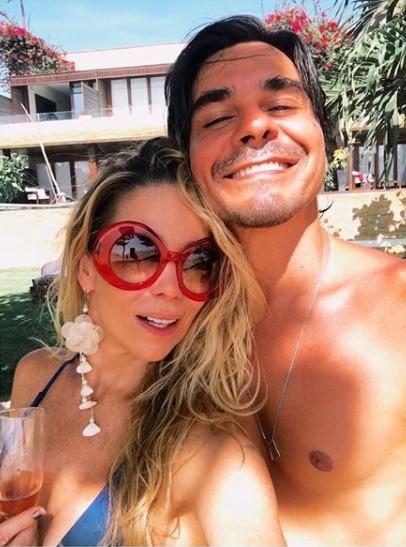 Danielle Winits e André Gonçalves (Foto: Reprodução / Instagram)