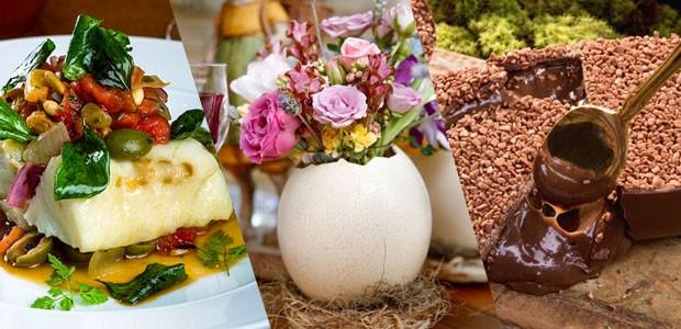 Páscoa: 78 pratos salgados, sobremesas e ideias de decoração (Foto: Divulgação)