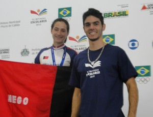 Isabella Pereira, ouro no ciclismo nas Olimp&#237;adas Escolares (Foto: Divulga&#231;&#227;o / Sejel)