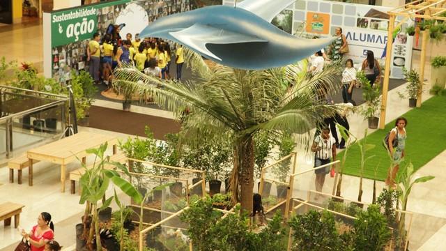 Sistema Mirante promove Semana de Sustentabilidade, no Shopping da Ilha (Foto: De Jesus/O Estado)