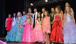 Concurso Mini Miss - Denise Salvi (Foto: Arquivo pessoal)