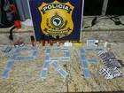 Homem é preso com anabolizantes e medicamentos contrabandeados