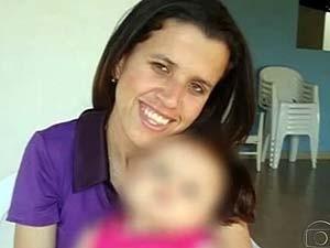 Luciana Lima tinha 26 anos e deixa uma filha (Foto: Reprodução/TV Integração)