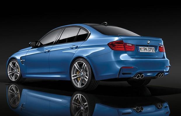 Novo BMW M3 (Foto: Divulgação)