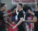 Firmino marca duas vezes, e Liverpool goleia Fleetwood Town em amistoso