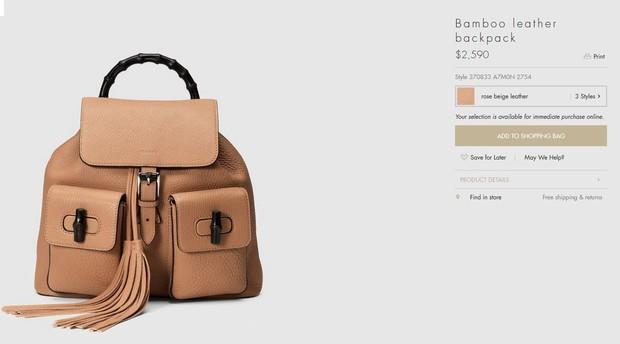 Bolsa da Gucci (Foto: Reprodução)