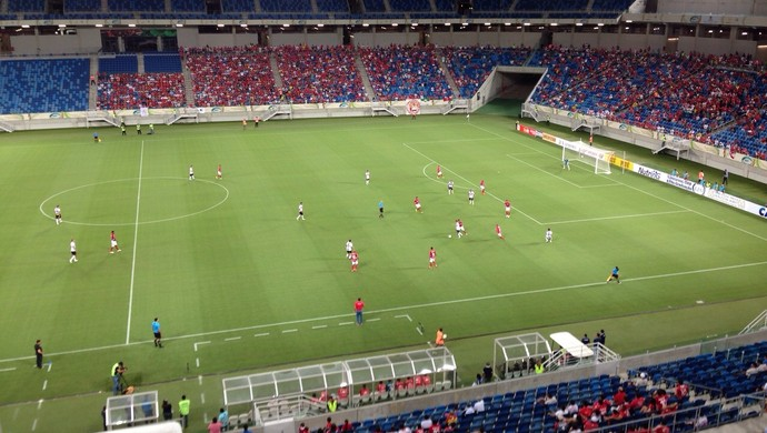 Arena das Dunas - América-RN x Globo FC (Foto: Luiz Beserra/Inter TV Cabugi)