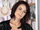 Andreia Horta vibra com sucesso de corte de cabelo e revela segredo para modelá-lo