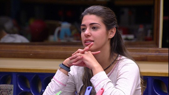 Vivian fala sobre disputar a Prova do Líder com Marcos: 'Não ia aguentar'