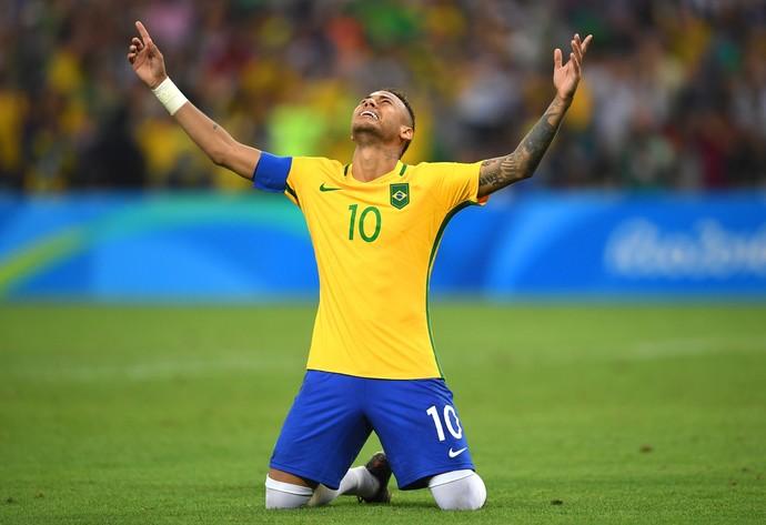 Resultado de imagem para neymar ouro rio 2016