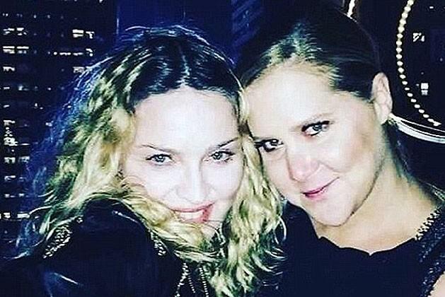 Madonna e Amy Schumer  (Foto: Reprodução Instagram)