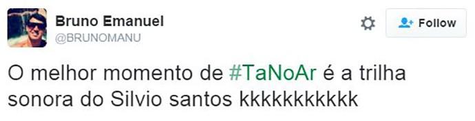 Tweet de @BRUNOMANU (Foto: Reprodução/Internet)