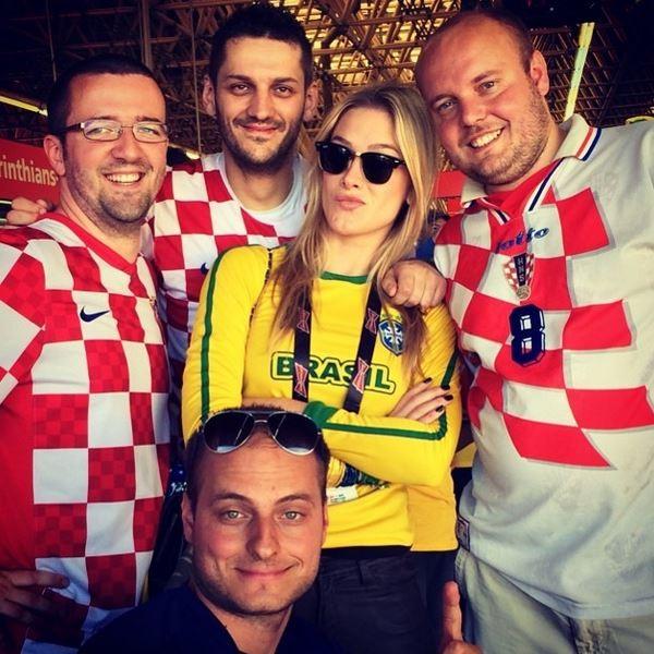 Fiorella Mattheis e croatas (Foto: Reprodução/ Instagram)