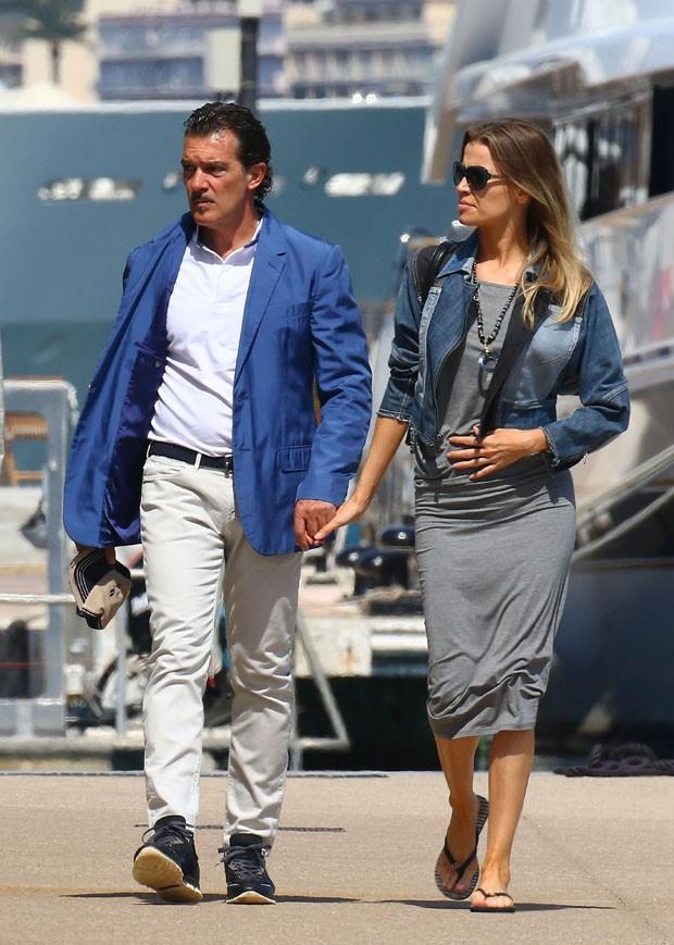 Antonio Banderas e Nicole Kimpel  (Foto: AKM/GSI)