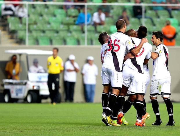 comemoração do Vasco contra o América-MG (Foto: Cristiane Mattos / Agência estado)