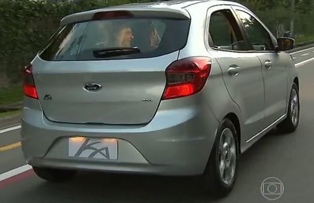 Ford Ka aparece no programa Superstar, da Rede Globo (Foto: Reprodução)