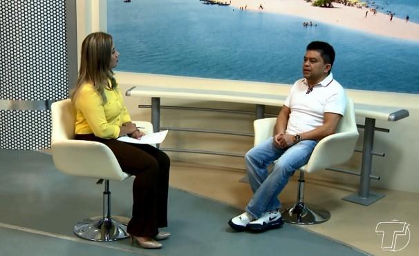 Cardiologista Walcir Costa em entrevista ao BDS (Foto: Reprodução/BDS)