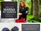 Precavida! Marina Ruy Barbosa revela o que não pode faltar na sua bolsa