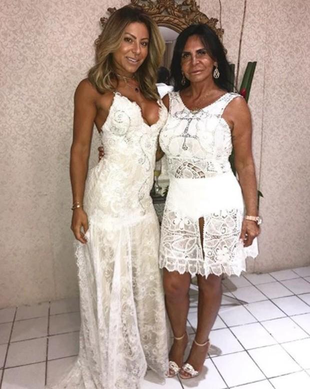 Andressa Ferreira e a sogra, Gretchen (Foto: Reprodução/Instagram)