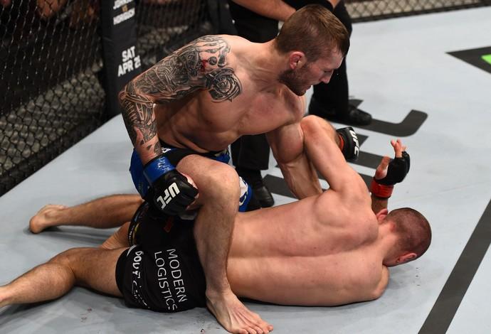 Marcin Bandel Stevie Ray UFC Polônia (Foto: Getty Images)