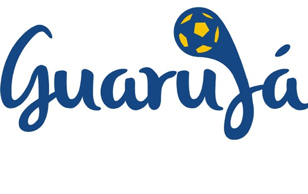 Logomarca de Guarujá para a Copa 2014 (Foto: Divulgação: Prefeitura de Guarujá)