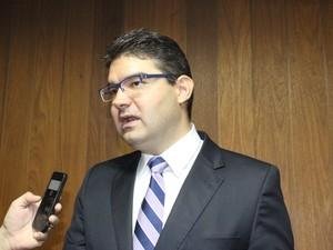 Deputado sstadual Luciano Nunes (PSDB) (Foto: Catarina Costa/G1)