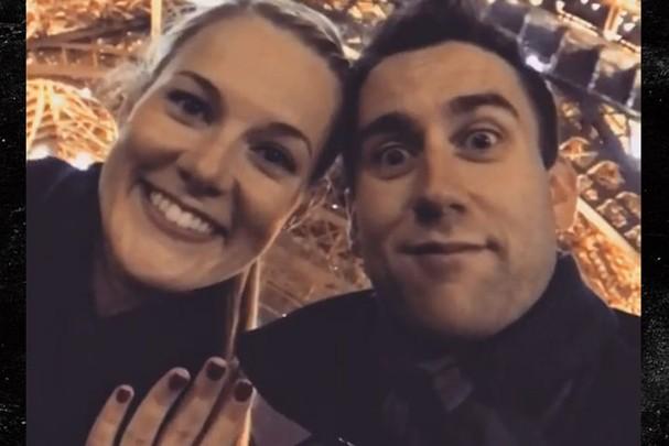 Matthew Lewis e Angela Jones (Foto: Reprodução/Instagram)