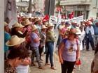 Trabalhadores rurais fazem manifestações em Santa Catarina
