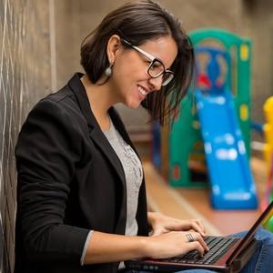 Renata Moraes, criadora do ImpulsoBeta, uma plataforma de orientação para a carreira de mulheres (Foto: Divulgação)