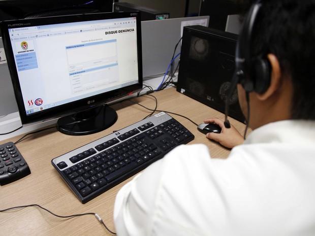 Cerca de 18% das ligações recebidas pelo telefone 181 em 2016 foram trotes, diz Segup (Foto: Divulgação / Agência Pará)