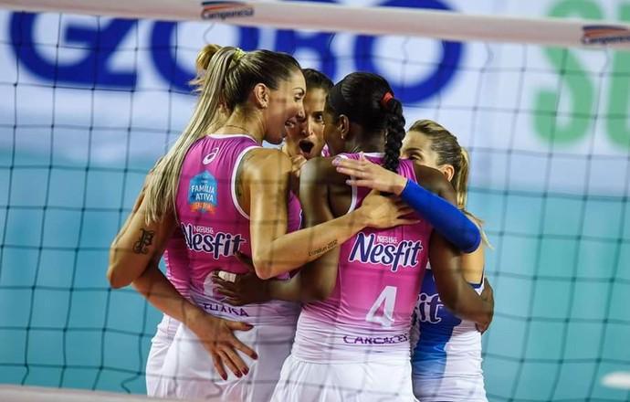 Osasco x Brasília, Superliga feminina de vôlei (Foto: João Pires/Fotojump)