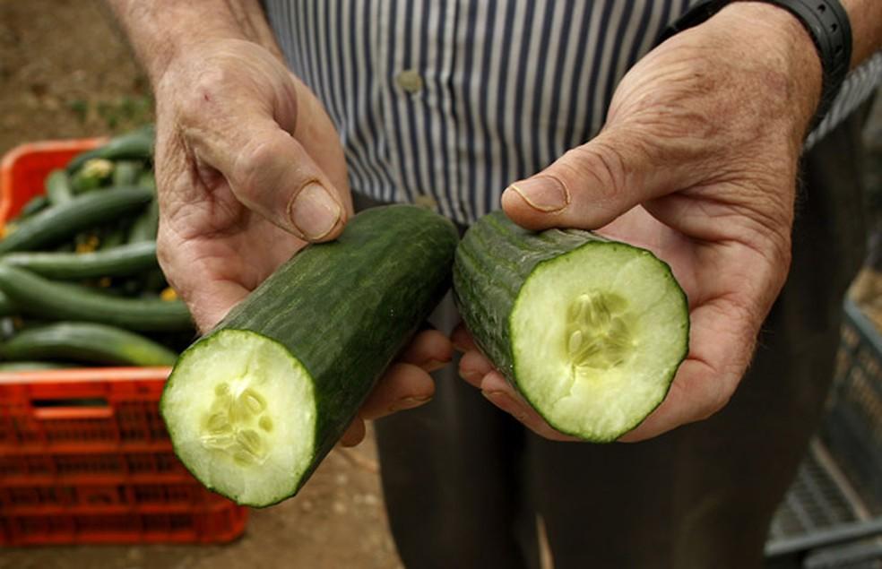 Quilo de pepino custa R$ 1,00 em Porto Velho e R$ 0,50 em Cacoal (Foto: AP )