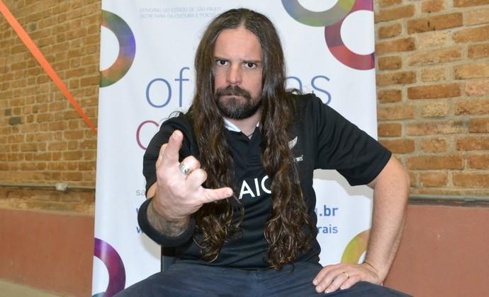 Andreas Kisser guitarrista Sepultura (Foto: Filipe Rodrigues)