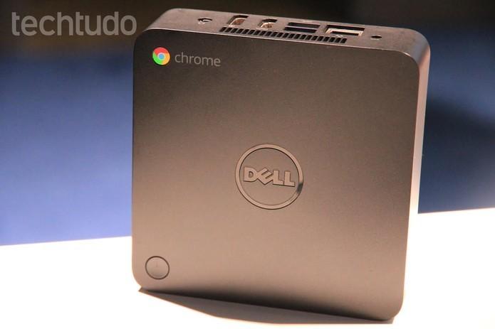 Modelo da Dell roda Chrome OS (Foto: Anna Kellen/TechTudo)