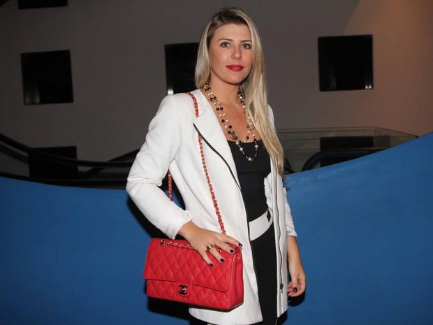 Ex-BBB Iris Stefanelli em show em São Paulo (Foto: Thiago Duran/ Ag. News)