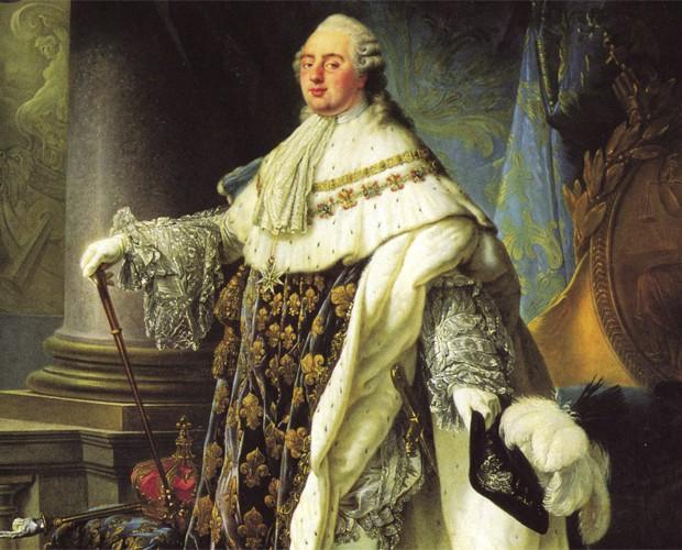 Quadro mostra imagem do rei francês Luís 16 (Foto: Divulgação/Museu Nacional do Palácio de Versalhes)
