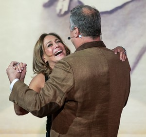 Susana Vieira cai na risada (Foto: Isabella Pinheiro / Gshow)