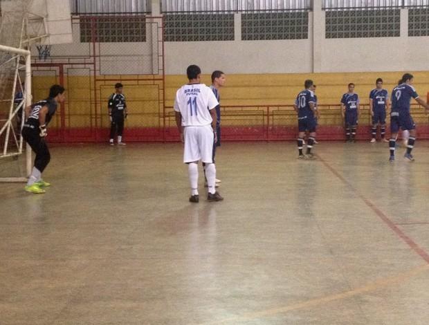 Pelo futsal masculino, Faro vence São Lucas nas Olimpíadas Universitárias de Rondônia (Foto: Hugo Crippa/GLOBOESPORTE.COM)