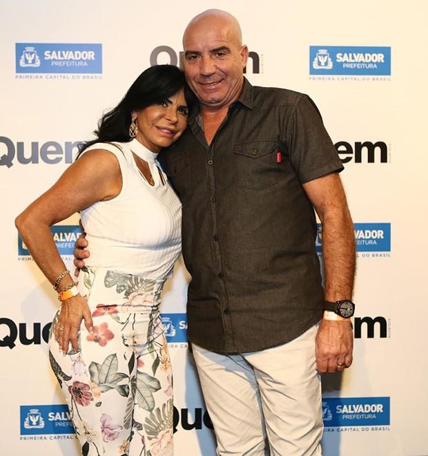 Gretchen e Carlos Marques (Foto: Ricardo Cardoso/ Ed. Globo)