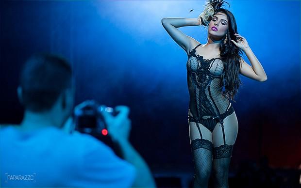 Making of Munik posando para o Paparazzo (Foto: Anderson Barros / Paparazzo)